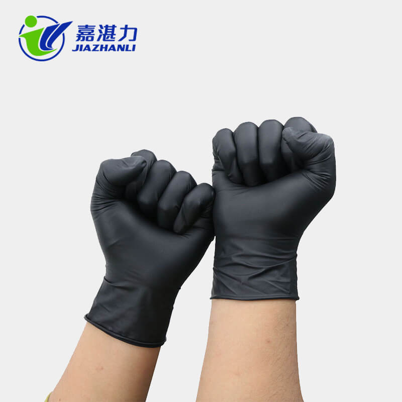 Black Nitrile Gloves with High Quality Disposable Nitrile Gloves