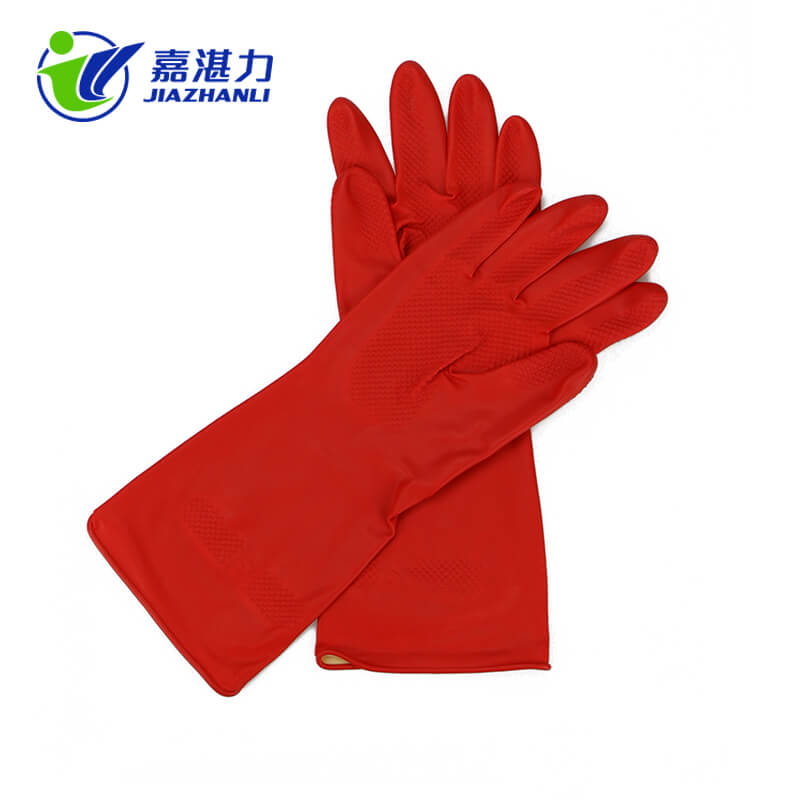 Latex Washing Gloves for Kitchen Dish — High Quality